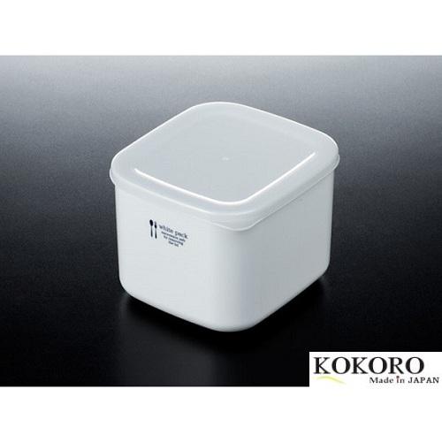 Hộp Nhựa Đựng Thực Phẩm White Pack Nhật Bản (1 lít)
