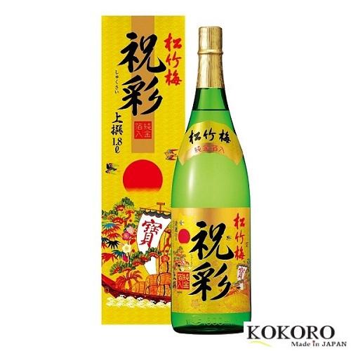 Rượu Shukusai Mặt Trời Nhật Bản (1.8l)