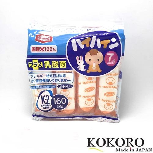 Bánh Ăn Dặm Haihai Cho Bé Nhật Bản