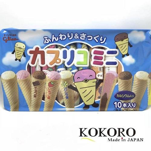 Bánh Glico Hình Kem 10 Cái Nhật Bản