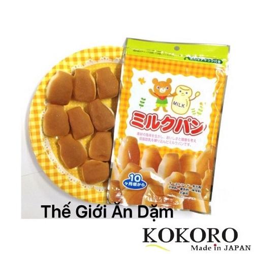 Bánh Mì Tươi Nhật Canet Cho Bé Ăn Dặm 45g