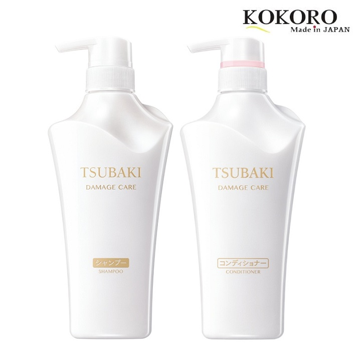 Bộ Dầu Gội Shiseido Tsubaki Shining Nhật Bản