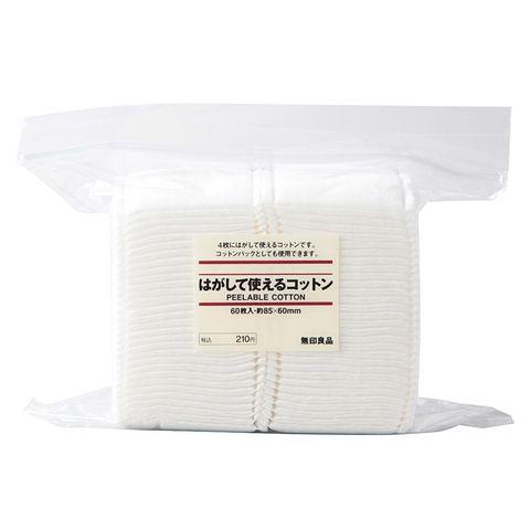 Bông tẩy trang Cotton Muji Nhật Bản