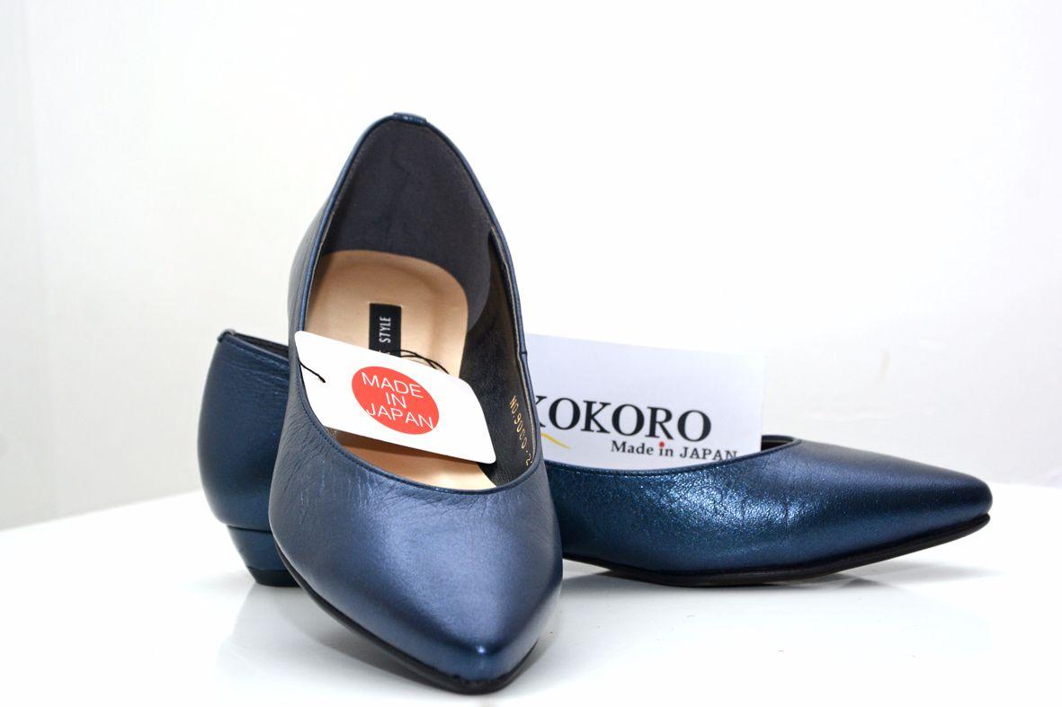 giày mõm nhọn cao 2 cm