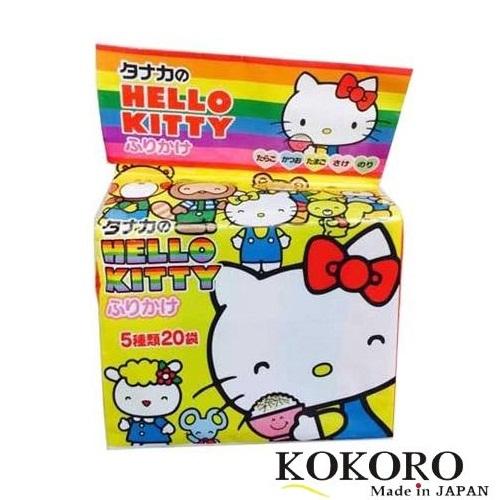 Gia Vị Rắc Cơm Hello Kitty Nhật Bản Túi 20 Gói