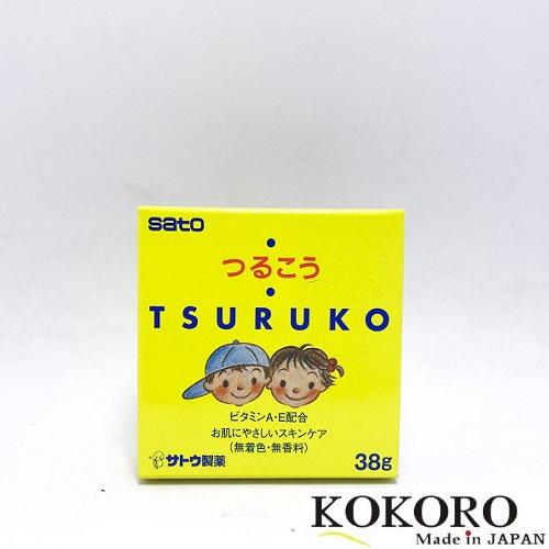 Kem Chống Nẻ Tsuruko Cho Bé 38g Nhật Bản