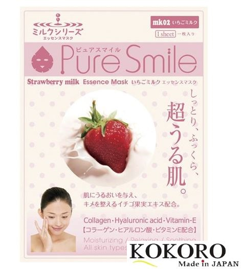 Mặt nạ Pure Smile Sữa Dâu