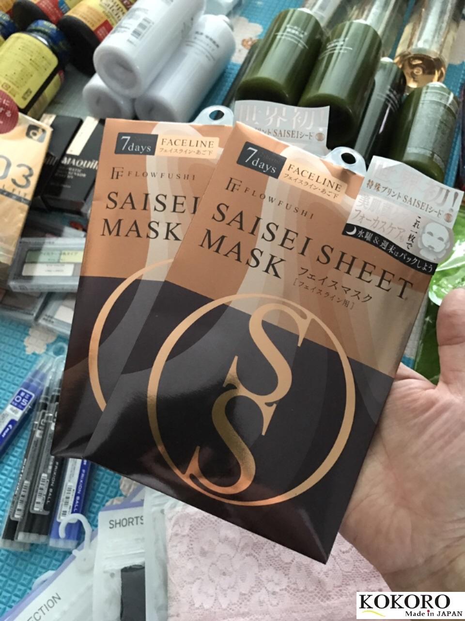 Mặt Nạ Saisei Sheet Mask Nhật Bản