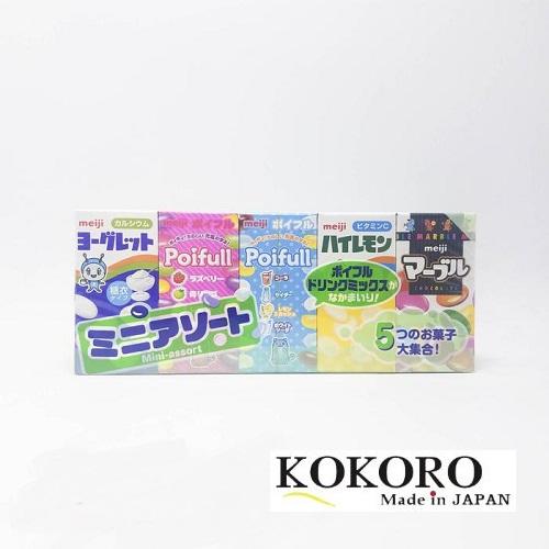 Sữa Chua Khô Meiji Vỉ 5 Hộp Nhật Bản