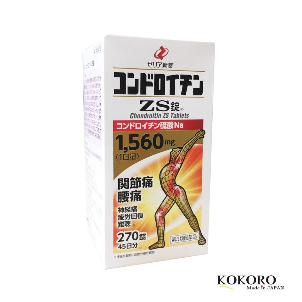Thuốc Bổ Xương Khớp ZS Chondroitin Nhật Bản 270 Viên