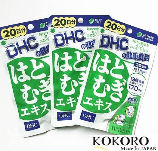 Viên Uống Trắng Da DHC Hatomagi Extract