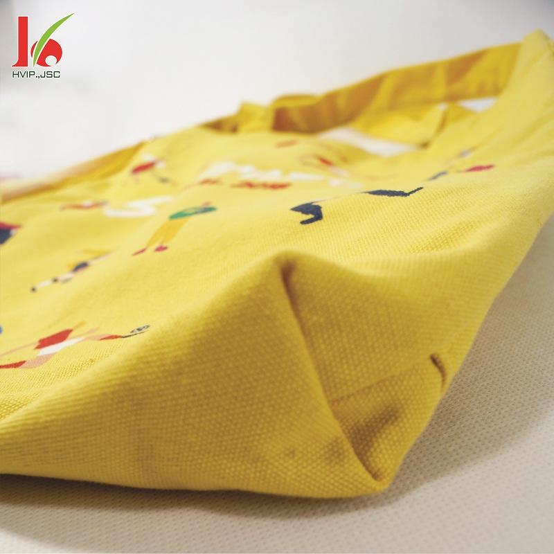 Túi vải bố thời trang Lotte 4