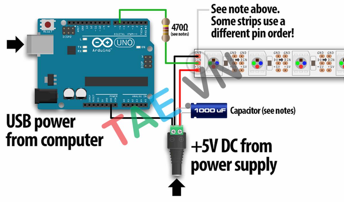 Module LED RGB WS2812