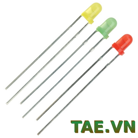Led 3MM 1 bịch (10 con)