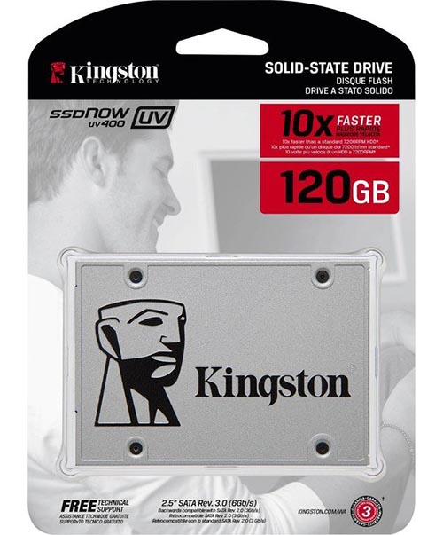 Ổ cứng SSD Kingston UV400 120GB