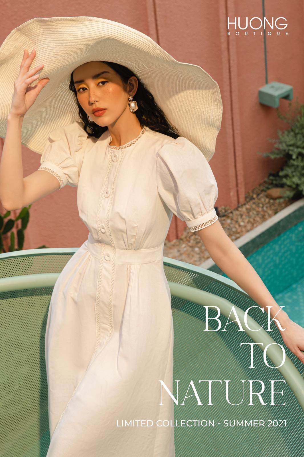 BACK TO NATURE - LINEN COLLECTION SUMMER 2021