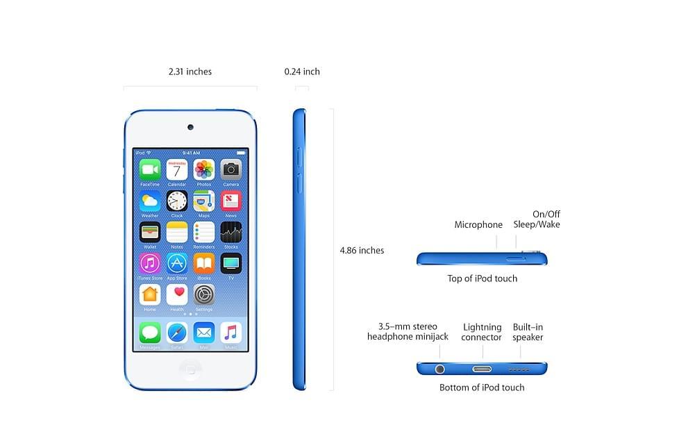 Apple iPod Touch Gen 6 Nhập Mỹ - New Seal chưa Active Giá Rẻ