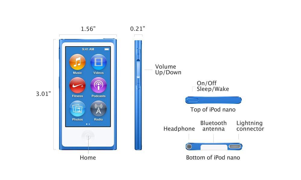Topic chuyên iPod: Nano, Shuffle, Touch - New Seal chưa Active Giá Rẻ - 1