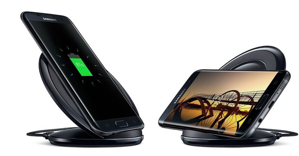 Đế sạc không dây Samsung Fast Charge chính hãng cho iphone X, Note 8 và các smartphone hổ trợ Qi