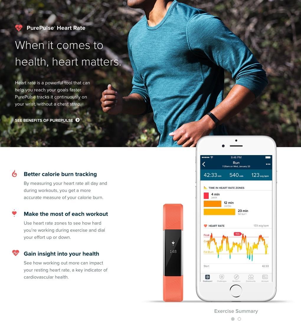 Vòng Tay Sức Khỏe Fitbit Alta 1