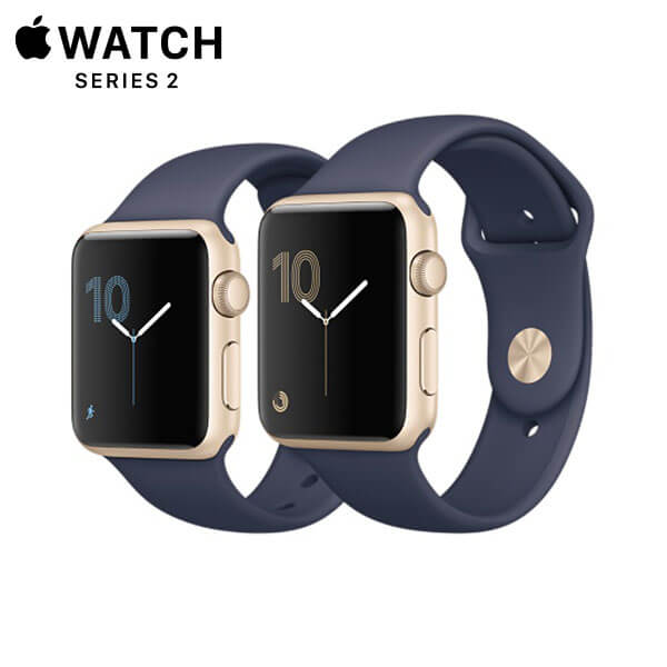Apple Watch Sport Series 2 Gold Aluminum Midnight Blue