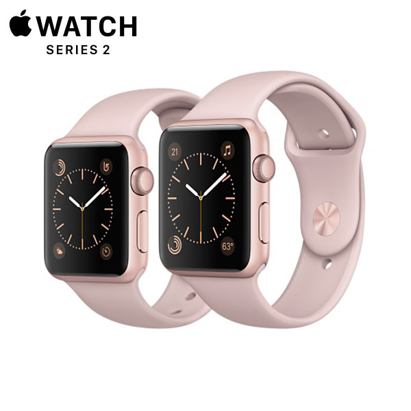 Apple Watch Sport Series 2 Rose Gold Aluminum, Pink Sand