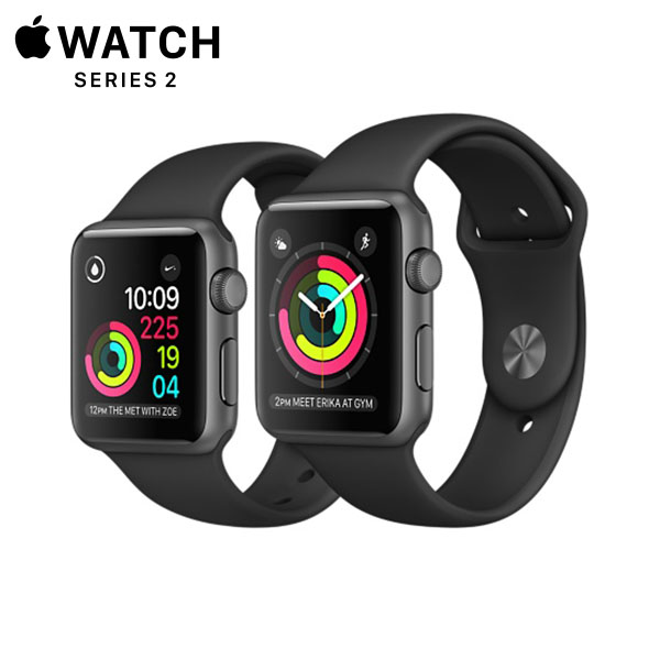 Apple Watch Sport Series 2 Space Gray Aluminum