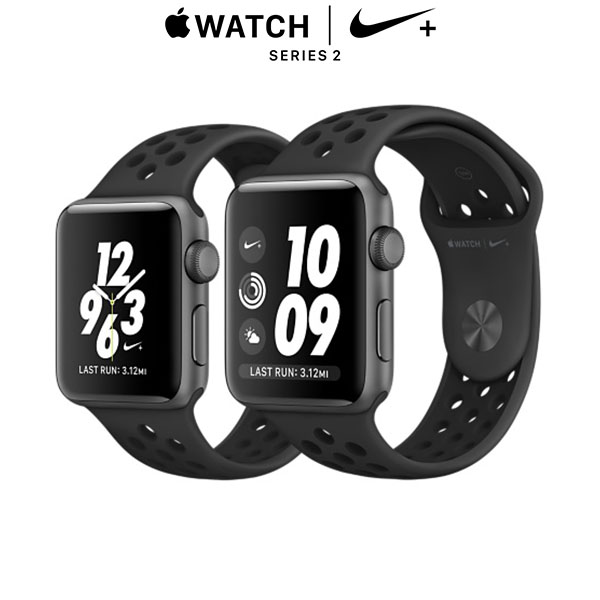 Apple Watch Nike+ Series 2 - Space Grey, Anthracite/Black