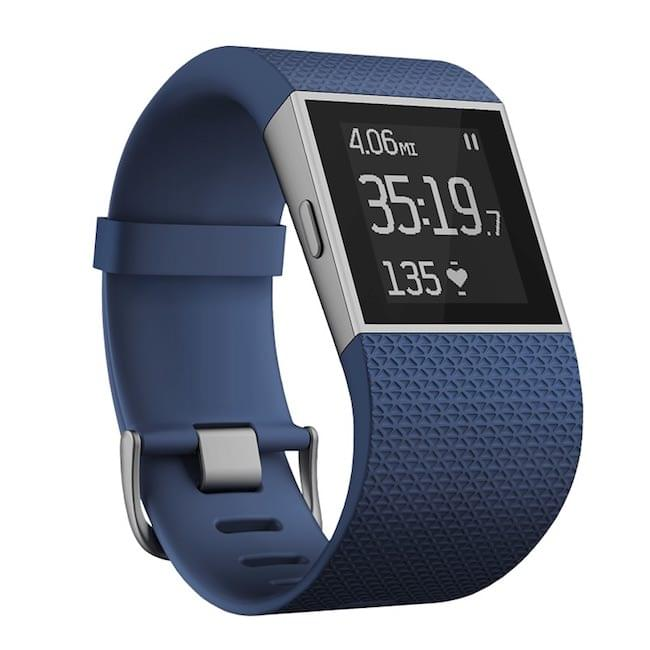 Fitbit Surge Fitness Superwatch, Blue, Large