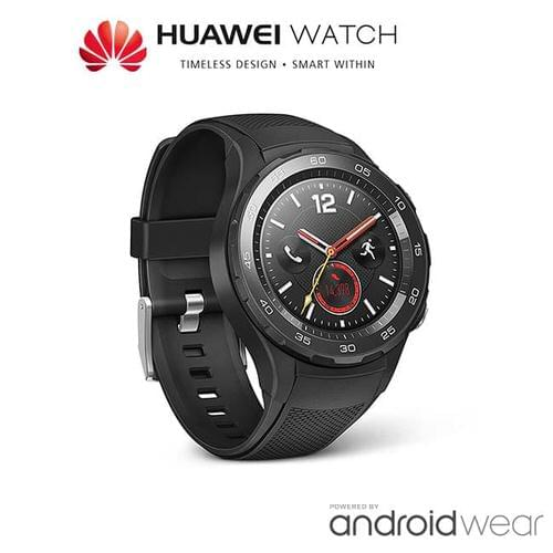 Huawei Watch 2 - Carbon Black - Android Wear 2.0