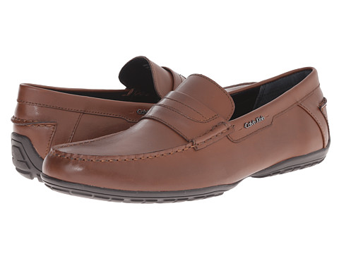 Giày nam Calvin Klein Walden British Tan Leather