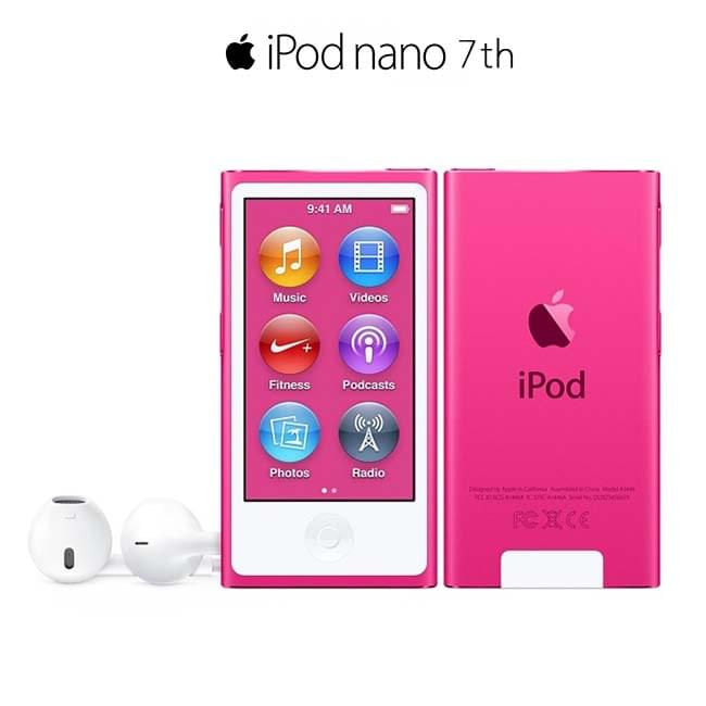 iPod Nano Gen 7 - 16GB (Pink)