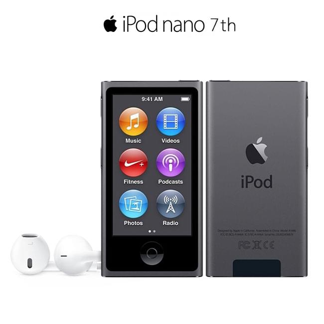 iPod Nano Gen 7 - 16GB (Space Gray)