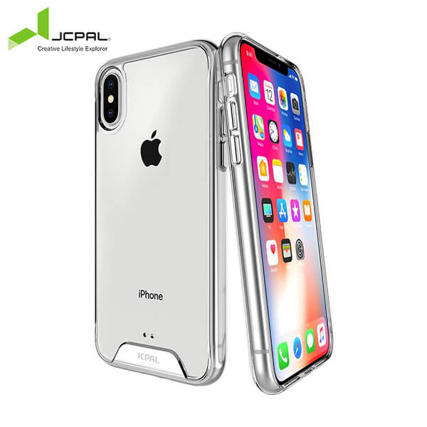 Ốp Bảo Vệ JCPAL DualPro Clear Case Cho iPhone X