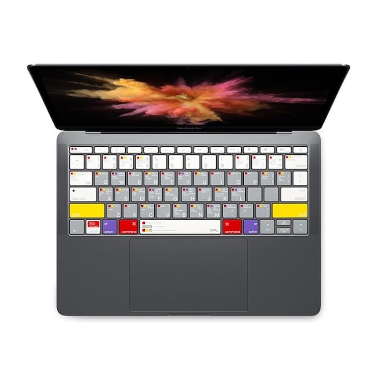 Phủ Phím Learn Macbook JCPAL VerSkin Macbook Pro 2016 - Non TouchBar
