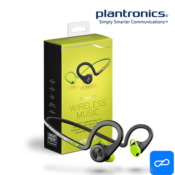 Tai Nghe Bluetooth Plantronics BackBeat Fit - Black Core