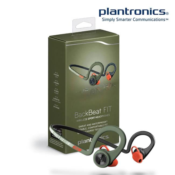 Tai Nghe Bluetooth Plantronics BackBeat Fit - Stealth Green