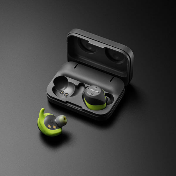 Tai Nghe Bluetooth Jabra Elite Sport - Lime Green Gray