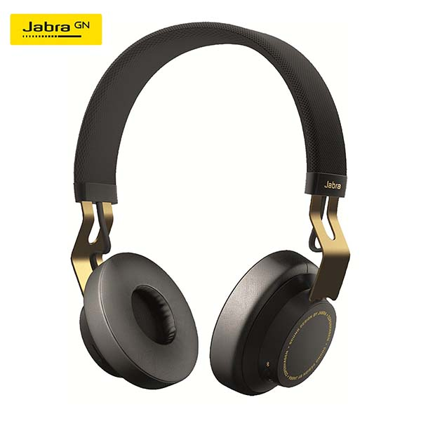 Tai Nghe Bluetooth Stereo Jabra Move - Gold