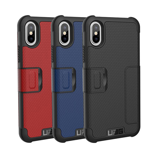 UAG Folio iPhone X Metropolis