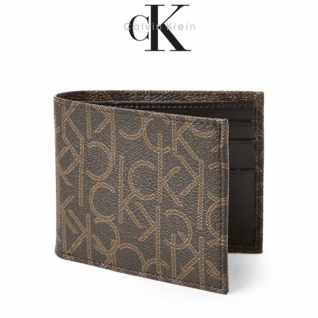 Ví Da Nam Calvin Klein Classic Leather Billfold