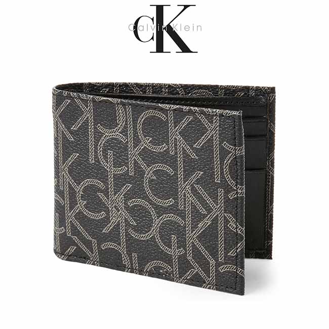 Ví Da Nam Calvin Klein Signature Leather Billfold