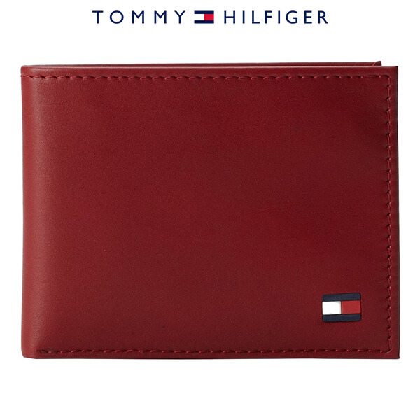 Ví Da Nam Tommy Hilfiger Leather Dore Passcase Billfold
