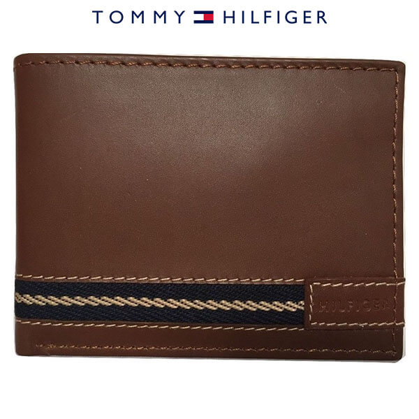 Ví Da Nam Tommy Hilfiger Milk Chocolate Brown