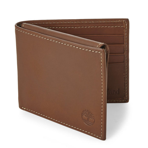 Ví Da Nam TIMBERLAND Brown Hunter Passcase