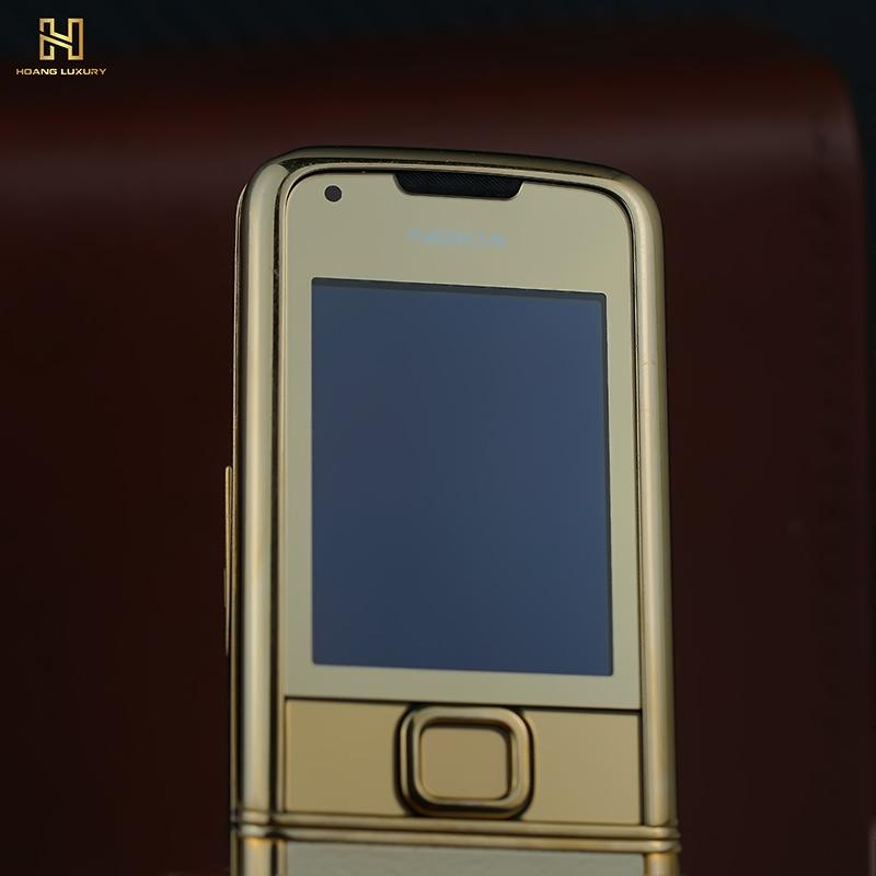 Nokia 8800 gold nguyên bản da trắng 30 triệu