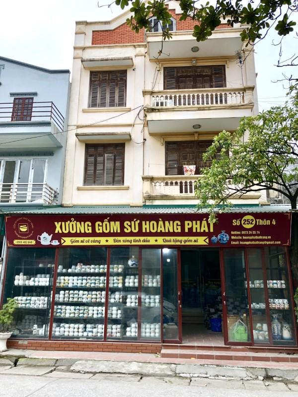 Xưởng sản xuất gốm sứ Hoàng Phát Bát Tràng