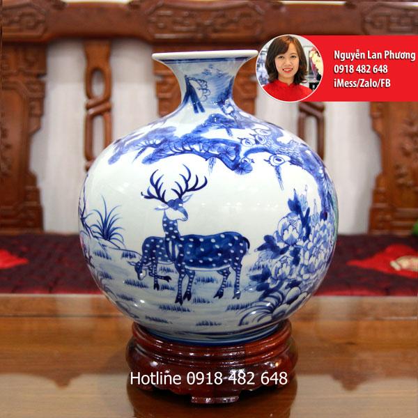 Bình hút lộc Tùng Lộc - SP833