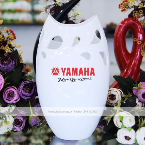 Lọ hoa in logo cho công ty Yamaha Việt Nam