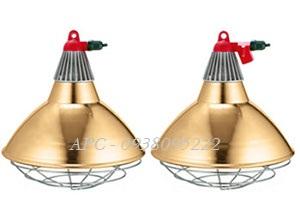 Đèn sưởi hồng ngoại - Bộ chao đèn Interheat